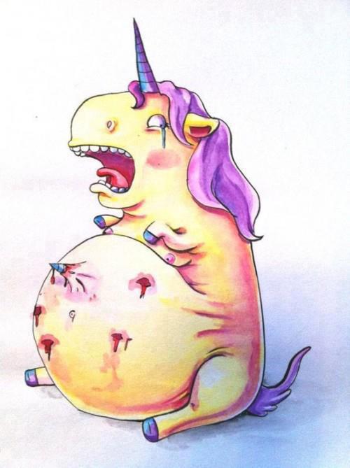 pregnant unicorn
